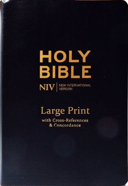 Englanti - NIV Large Print Single-Column Deluxe Reference Bible tuotekuva3