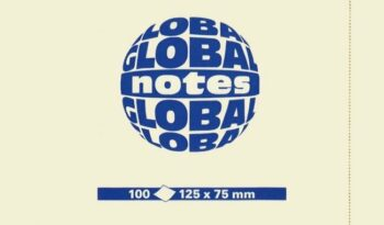 Global Notes viestilaput 125x75 mm tuotekuva1