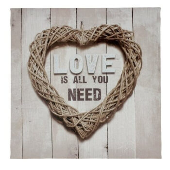 Love Is All You Need -Canvastaulu tuotekuva1