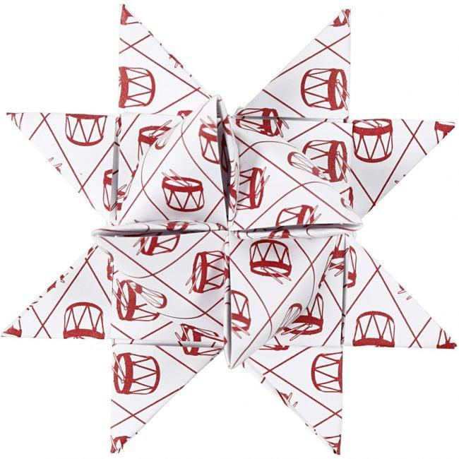 Paperitähtisuikaleet valkoinen/punainen tuotekuva6